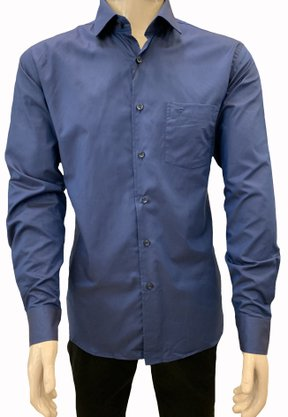 CAMISA MANGA LONGA FIDELI PIMA COTTON REGULAR